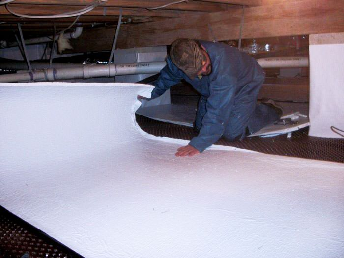 Crawl Space Floor Insulation Long Beach Los Angeles