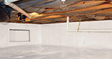 Crawl space moisture control and structural repair in Greater Los Angeles